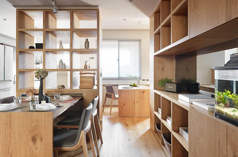 简约风格二居室装修餐厅效果图