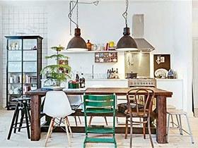 10个混搭风格餐厅装修效果图 为美食加分