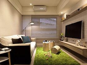 53平北欧风格旧房改造装修 小房子的惊艳蜕变