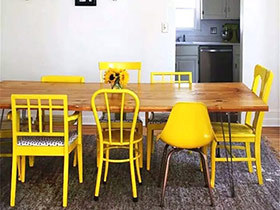 12个餐厅餐椅搭配设计效果图 混搭进行时