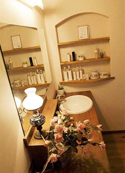 日式卫生间设计平面图