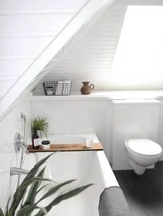 阁楼北欧风洗手台图片