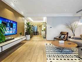 90平米房子两居室简装效果图   安静空间