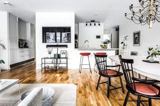 北欧风格二居室餐厨空间设计