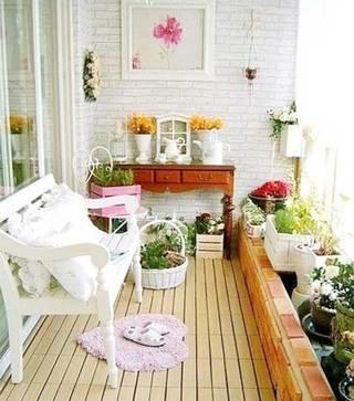 花园阳台装修构造图
