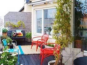 美好时光  10个花园阳台装修布置图片