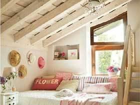 有一点点心动  10个阁楼卧室布置图片