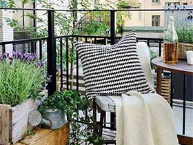 休闲得到之处  10个休闲阳台装修图片