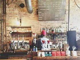 复古咖啡厅效果图