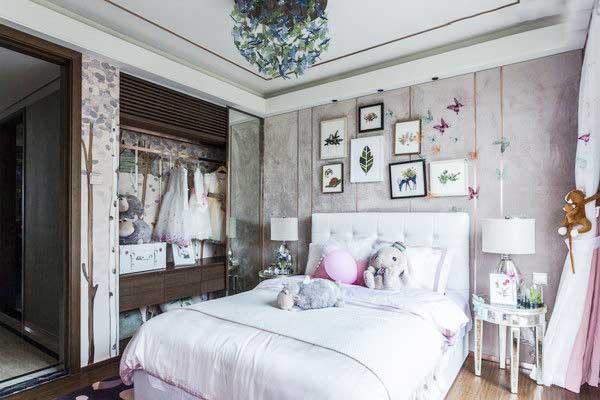 女生卧室整体衣柜参考图