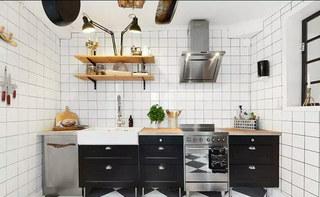 70平小户型装修整体厨房设计