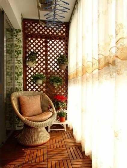 阳台改造装修装饰效果图