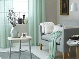 10个纯色窗帘装饰效果图 把情调高手带回家