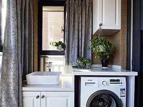 安居乐业  10款小户型洗衣房装修图片