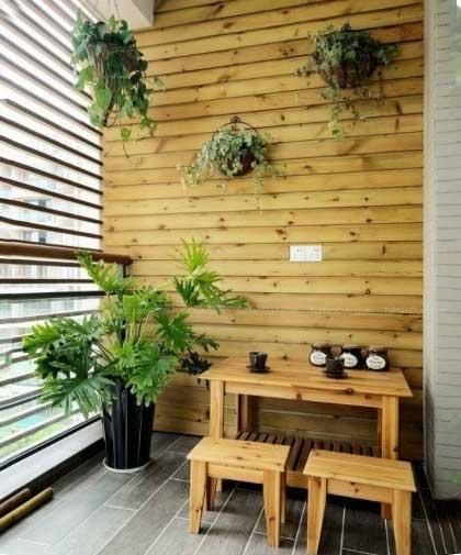 花园阳台装修欣赏图
