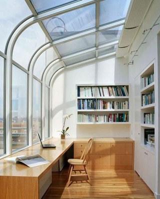 阳台书房装修设计图