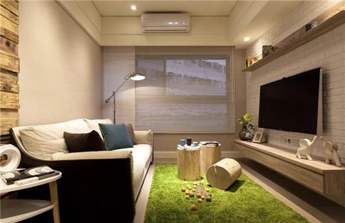 上海55平方方米两室一厅装修装修效果图 55平方方米两室