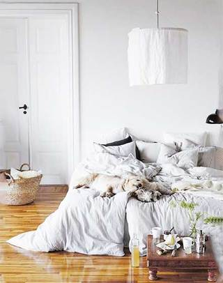 北欧风卧室装修图片大全