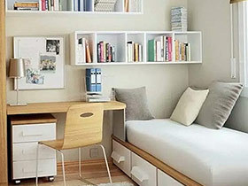 10个小户型书房装修效果图 空间零浪费