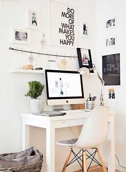 家庭小书桌装修装饰效果图