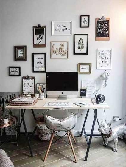 家庭小书桌设计构造图