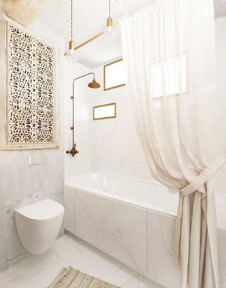 简约风浴室装修装饰效果图