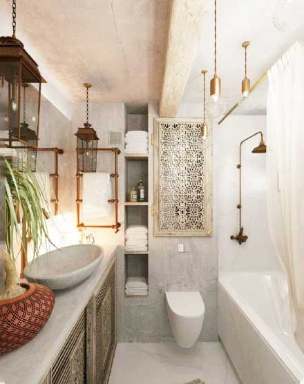 简约风浴室设计图片