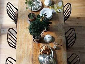 为心情吃饱饭  10款餐厅装饰搭配实景图
