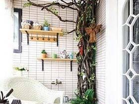 梦想中的家  10款阳台花园设计图片