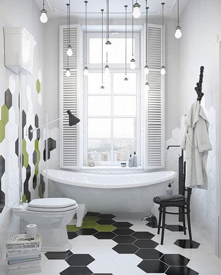 卫生间个性瓷砖装饰装修