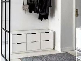 11个白色玄关鞋柜效果图 美观与实用兼得