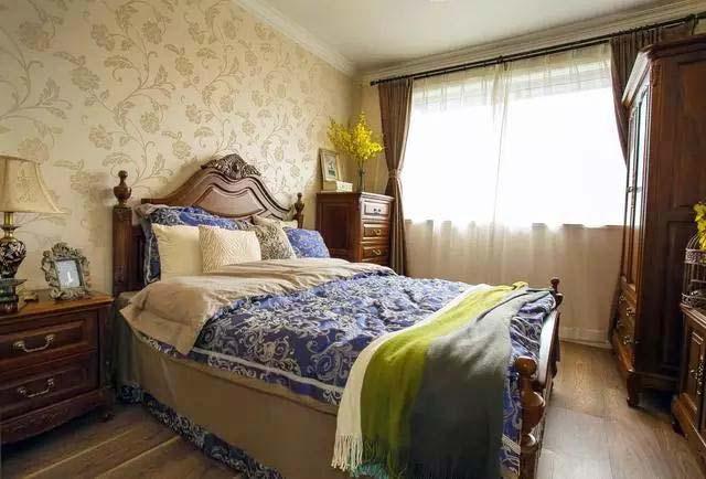 90㎡两居室卧室平面图