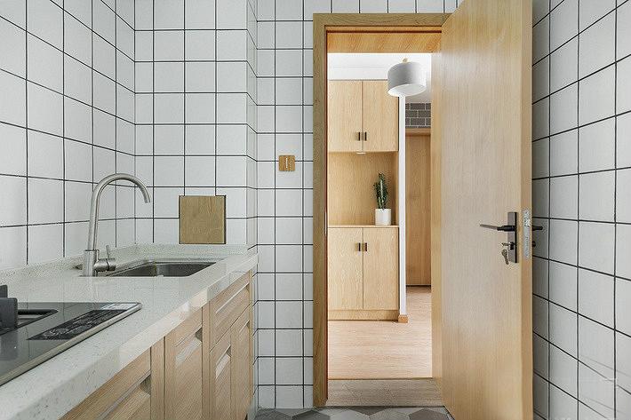 60平小户型装修效果图厨房效果图