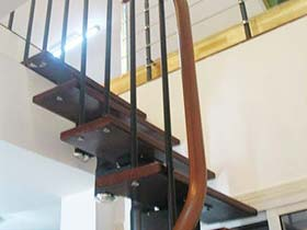 转换精彩  10款楼梯扶手转角设计图片
