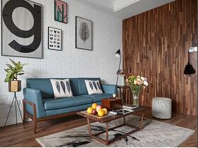 25万搞定90平北欧风格美家 有格调的空间