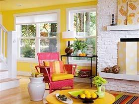 让生活嗨起来  10款多彩客厅装饰图片