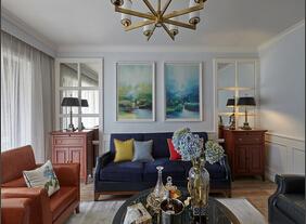 三室两厅美式风格装修 美妙的空间设计