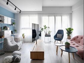 130平三居室台式风格装修 尽享乐活空间
