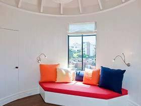 窗外的清新色  10款室内飘窗设计实景图