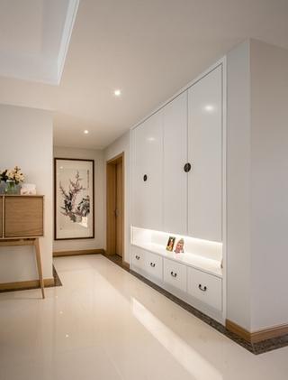 三室两厅大户型装修玄关柜设计图