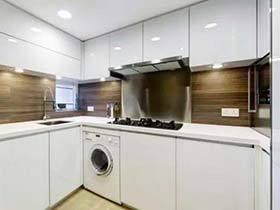 生活组合形式 10款厨房洗衣机摆放图片
