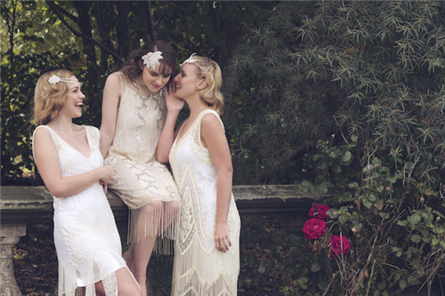 新娘盘发头饰图片鉴赏 打造美丽华贵风格的新娘