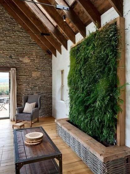 植物背景墙装修图片大全