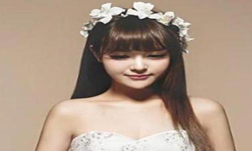 齐刘海婚纱照图片大全 齐刘海拍婚纱照好看么