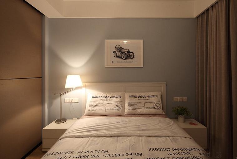 宜家风格两居室装修卧室效果图