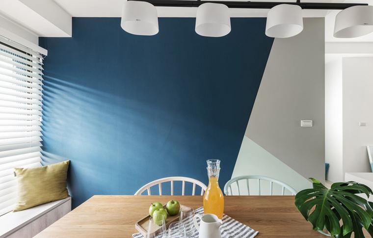 100平北欧风格装修效果图餐厅吊灯图片