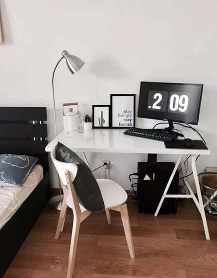 卧室书房布置平面图