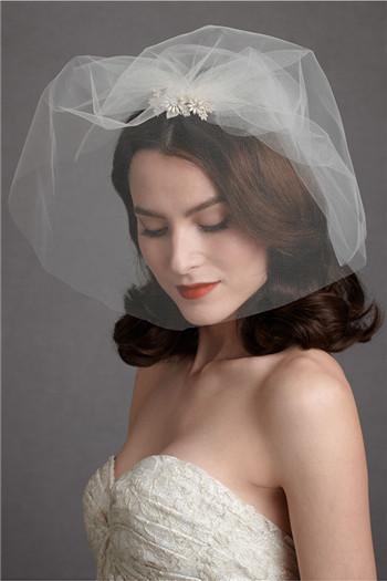 新娘头纱的戴法217 选择新娘头纱的要点有哪些