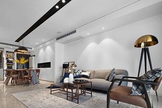 现代简约三居室简约客厅图片