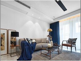现代简约三居室 尽享乐活空间